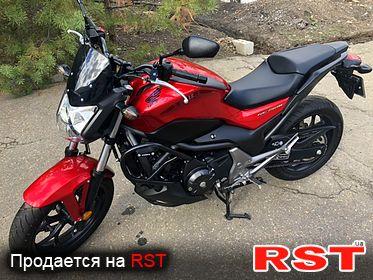 МОТО СТРИТБАЙК Honda NC 750S, обмен 2014